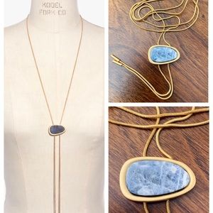 NEW Madewell Foretell Bolo Necklace